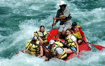 St Regis white water rafting in Western Montana
