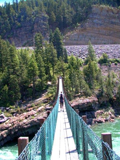 Exploring Montana Kooenai Falls